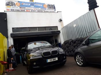 Any car, tyre repair and fitting by Deals on Tyres Ltd.