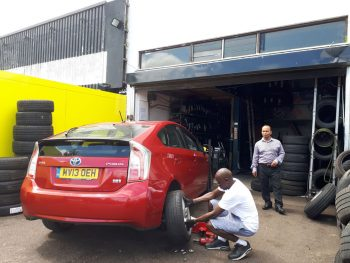 PCO UBER DRIVERS WELCOME tyre repairs 10% discount by Deals on Tyres Ltd.