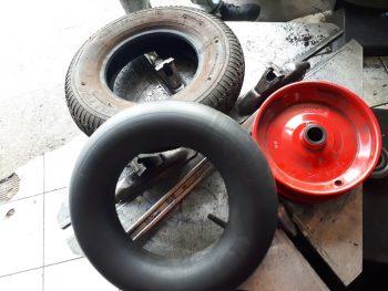 Inner tube repair by Deals on Tyres Ltd.
