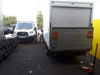 Van tyres fitting by Deals on Tyres Ltd.